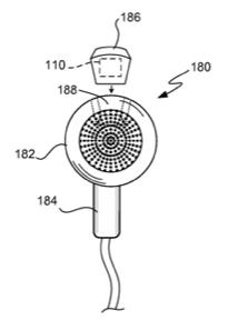 Apple earbud patent